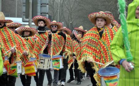 karnevalsumzug in hannover 2018