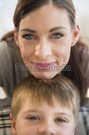 portrait of mother and son 6