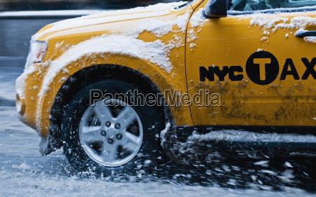 taxi new york city new york