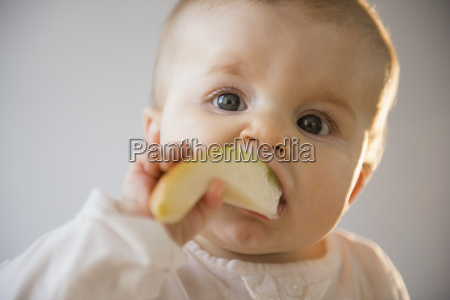 portrait of baby girl 6 11