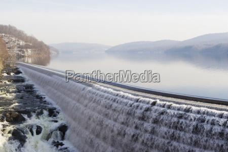 umwelt anhoehe huegel stein nebel usa