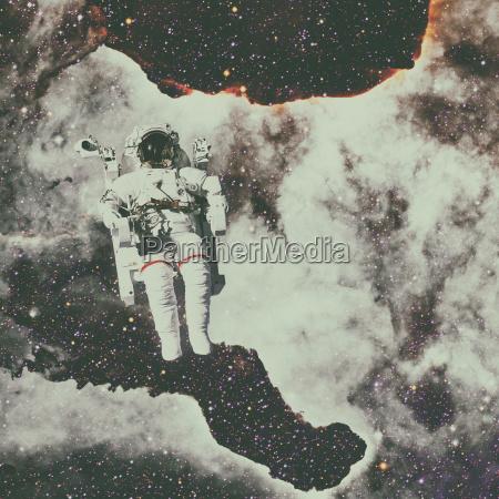 space kosmos weltraum atmosphaere astronaut globus