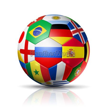 russland 2018 fussball fussball mit team