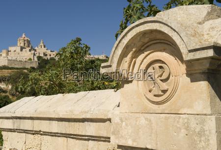 alte hauptstadt mdina malta