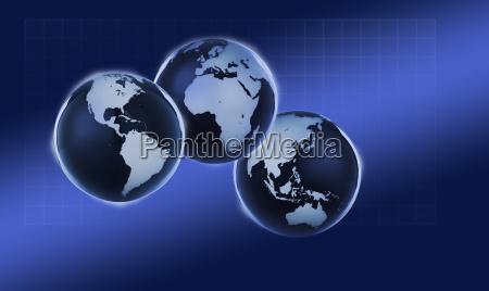 blau asien afrika europa australien fuenfter