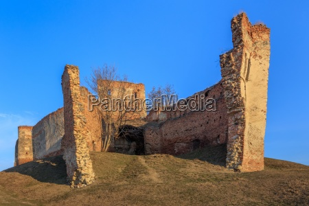 the slimnic fortress transylvania romania