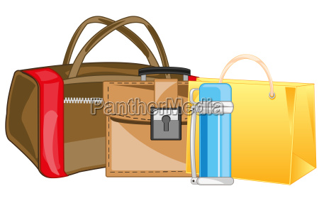 handlasttasche verpackung und aktentasche