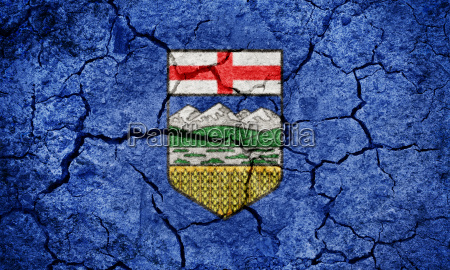 alberta province of canada flag