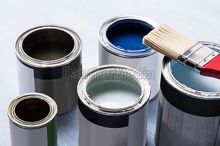 malen kann mit pinsel