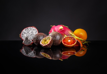 healthy exotic fruit concept