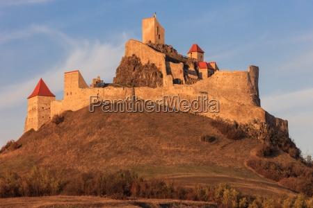 rupea medieval fortress transylvania romania