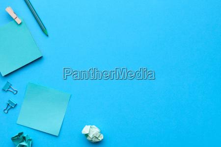 blau buero schreibtisch mode farbe model
