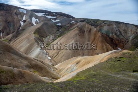island vulkanisch landschaftsbild landschaft natur gebirge