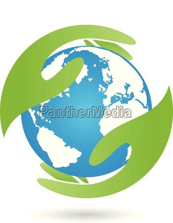 earth and hands earth globe earth