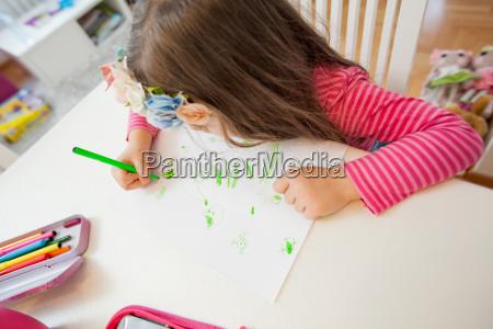 kreative kinderzeichnung der vorschule