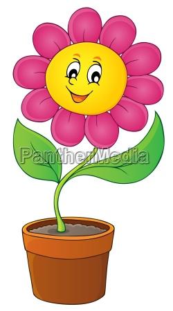 happy flower theme image 5