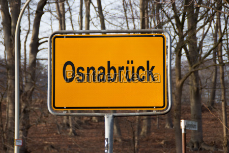 a city sign osnabrueck