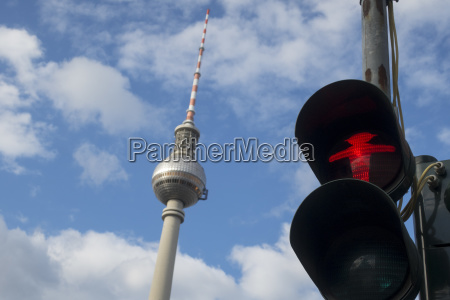 ampel in berlin mit alex