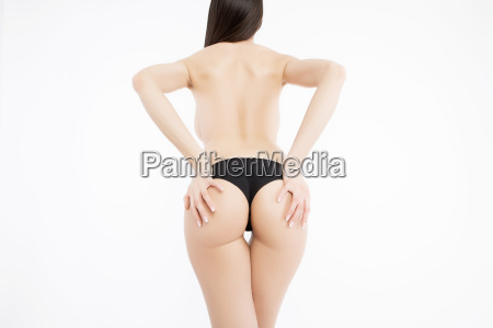 sexy curves girl butt without cellulite