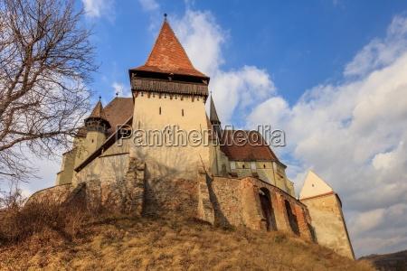 biertan fortified church in transylvania romania