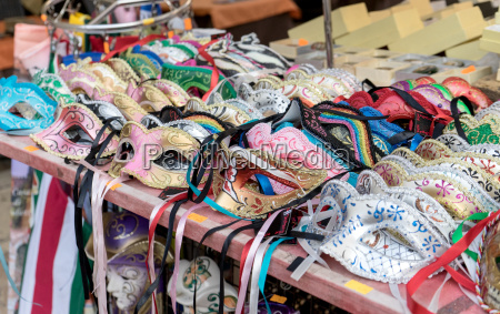 stall with beautiful traditional hand