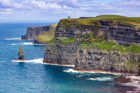 irland cliffs of moher klippen reise