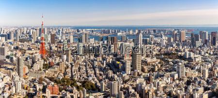 tokyo tower tokio japan