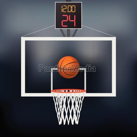 basketball reifen illustration
