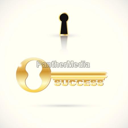key to success illustration