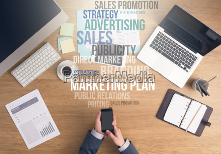 marketing strategies concept