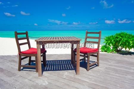 cafe urlaub urlaubszeit ferien strand palme