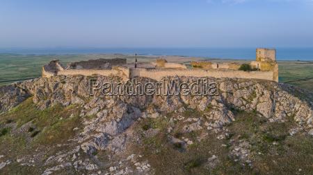 enisala fortress dobrogea romania