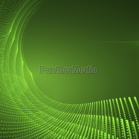abstract geometric green background with twisted