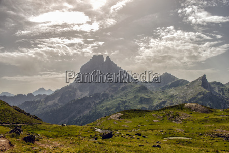 view of the pic du midi