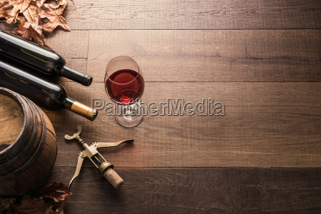 tasting excellent red wine