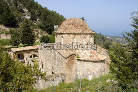 altes byzantinisches kloster antifonitis in der