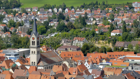 tuttlingen aerial view of the