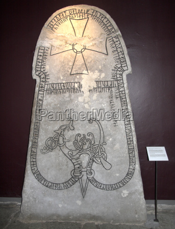 bildstein aus der wikingerzeit im museum
