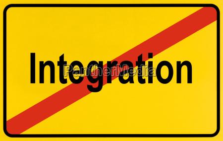 symbolbild ende der integration