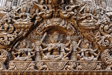 holzerner hinduistischer tempel durbar square