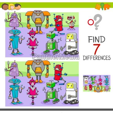 unterschiede spiel mit robotern fantasy charaktere