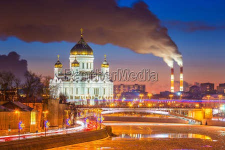 moscow at wintertime
