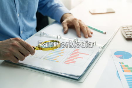internal audit concept man with