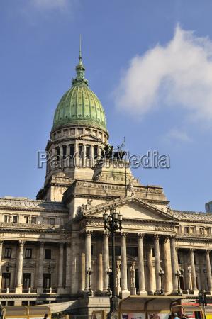 nationalkongress congreso national buenos aires argentinien
