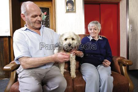 im pflegeheim altenheim seniorin