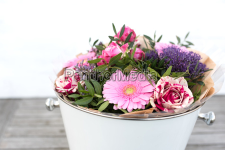 bouquet of spring flowers for mothers