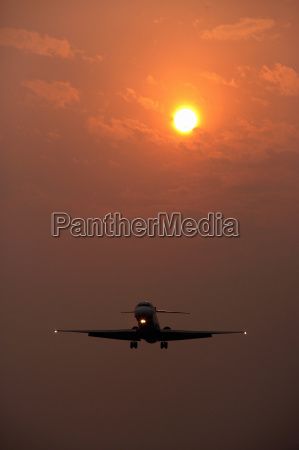 travel flight traffic transportation sunset aircrafts