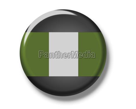 button flagge nigeria