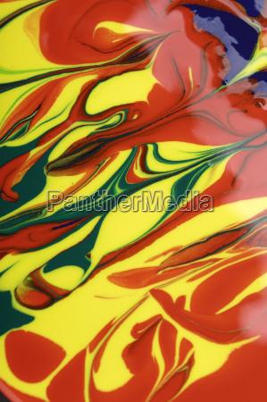 aerial perspective detail liquid art colour