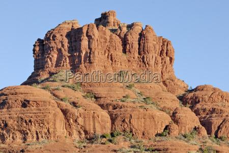 summit of bell rock at sedona